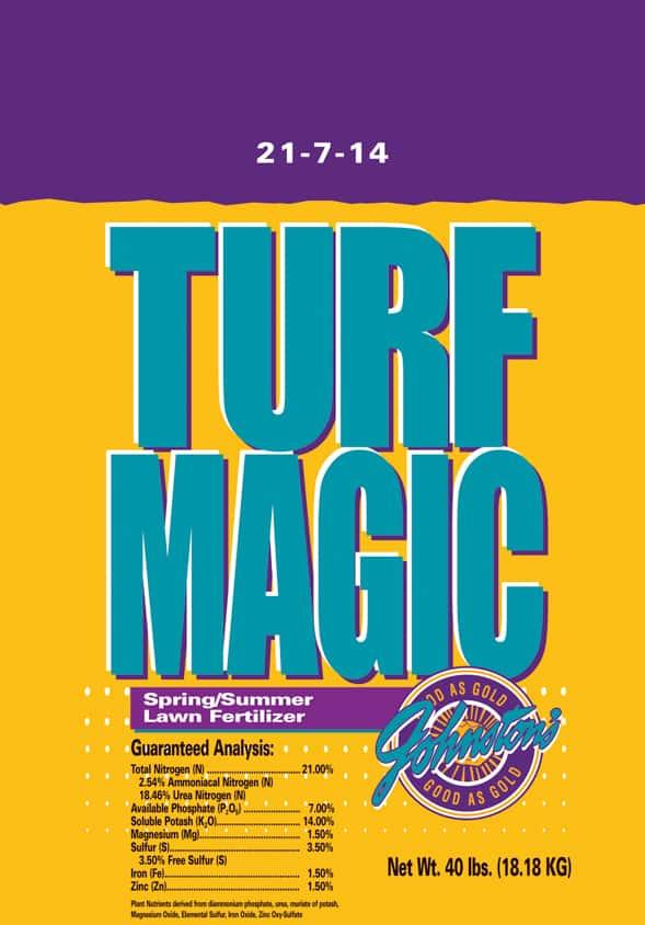 Turf Magic fertilizer