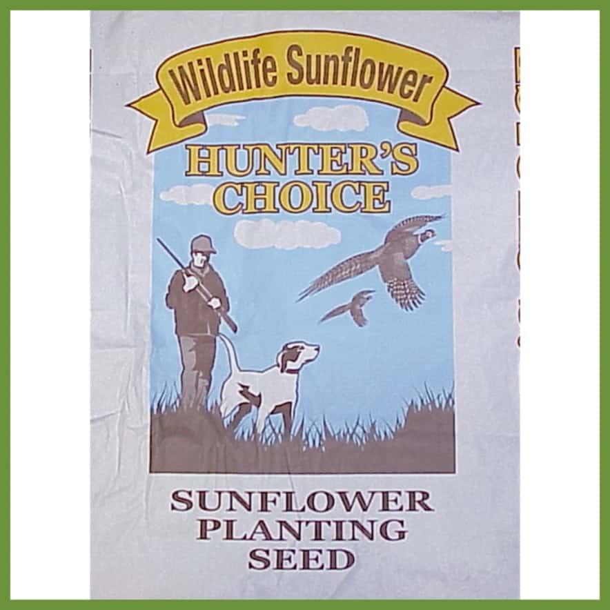 Bag of sunflower seeds